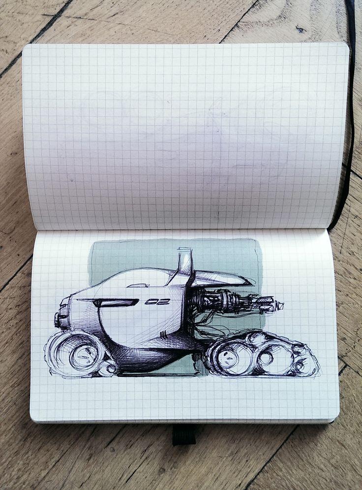 Industrial design art.