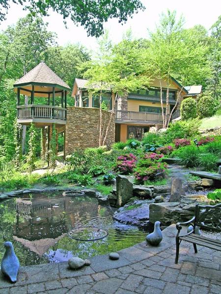 401 best images about gazebos on pinterest for Garden getaway designs