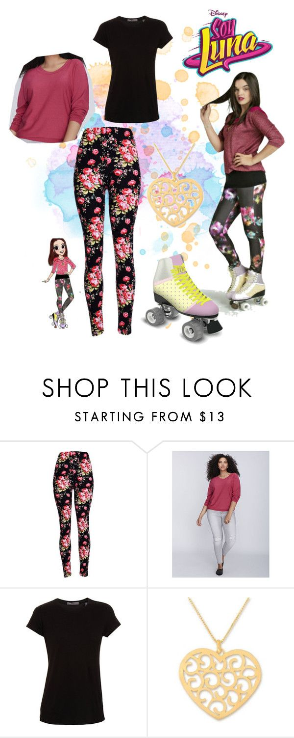 """""""soy luna"""" by maria-look on Polyvore featuring Lane Bryant, Vince and NOVICA"""