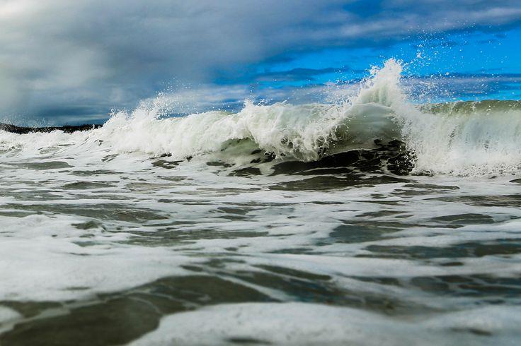 Messing about with my new underwater housing at Tullan Strand, Bundoran #AquaTech #tullan #bundoran #donegal #surfing #waves