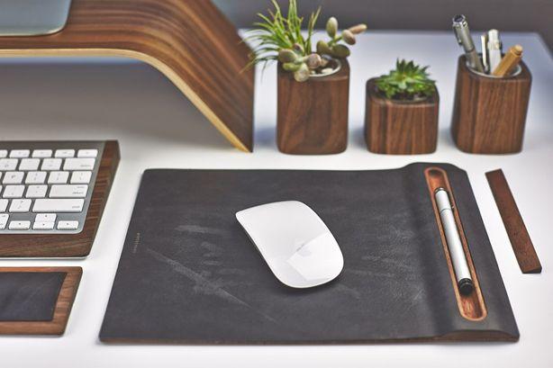 close up desk still life