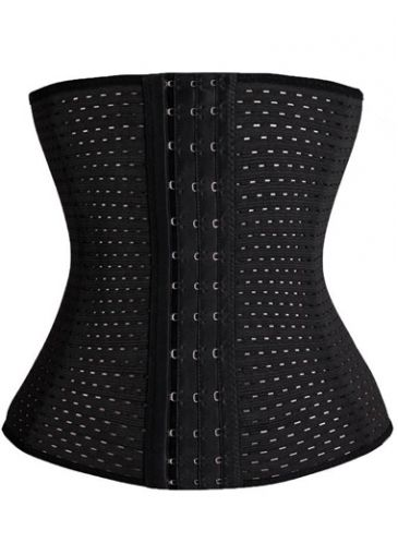 Plus Size Black Strapless Workout Waist Trainer on sale only US$19.36 now, buy cheap Plus Size Black Strapless Workout Waist Trainer at lulugal.com
