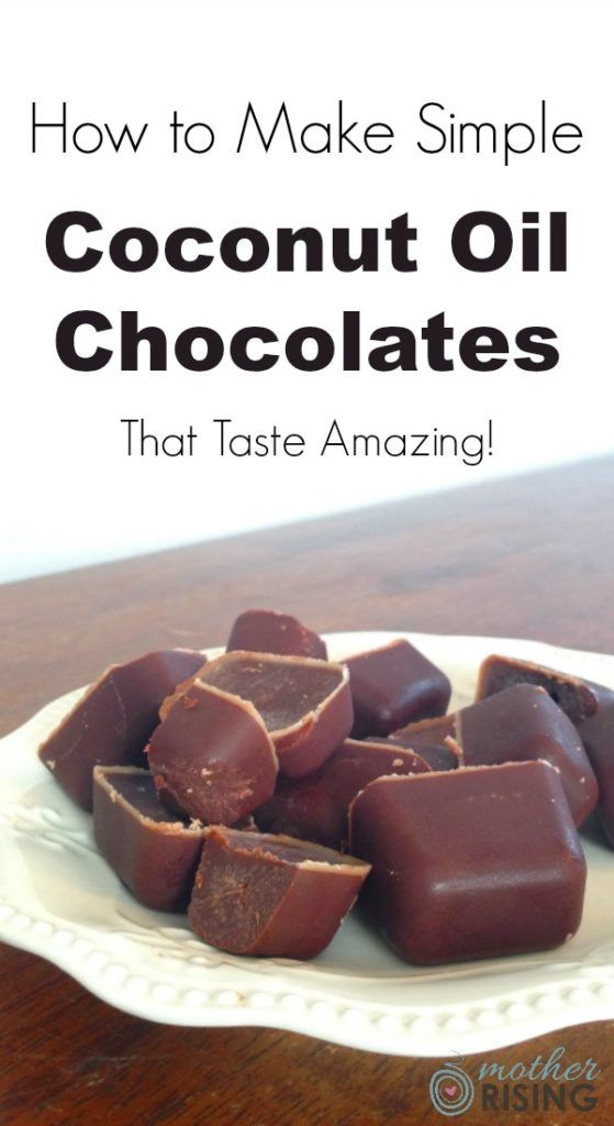 Here's how to make easy coconut oil chocolates that taste amazing and are good for you too! Only six ingredients and dairy free, gluten free & grain free! Maple syrup and stevia.