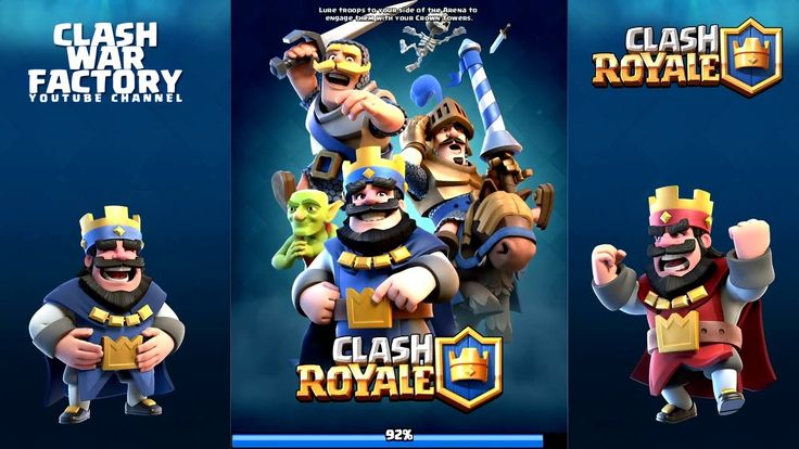 Clash Royale - Arena 5 Live Play awesome match!