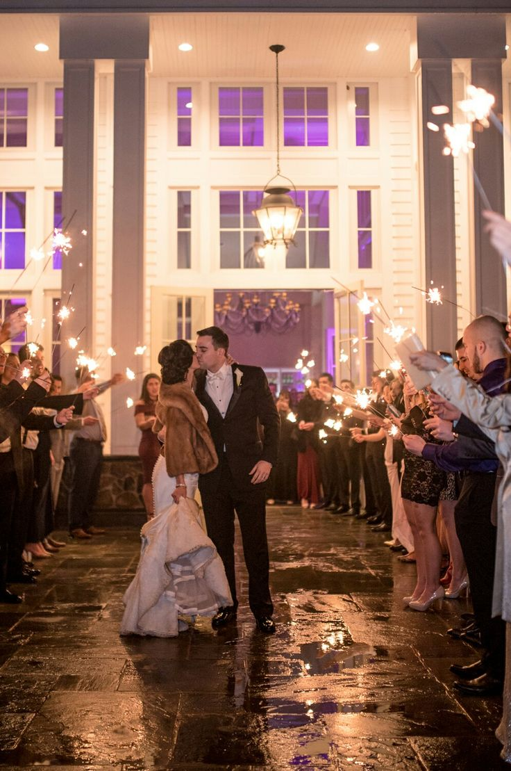 wedding destinations in new jersey%0A Michelle Joe   Sparkler Exit   Winter Wedding The Ryland Inn   New Jersey