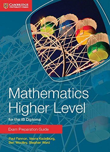 A new series of Exam Preparation guides for the IB Diploma Mathematics HL and SL and Mathematical Studies. ISBN: 9781316092859