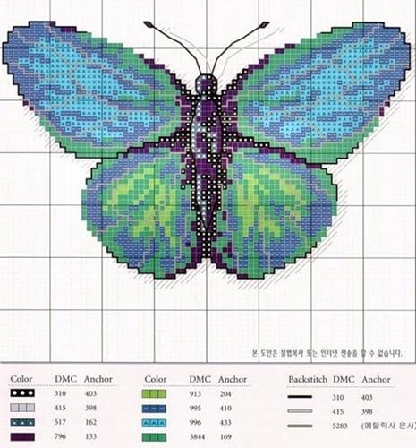 murzilka1019 — «9.jpg» на Яндекс.Фотках  butterfly cross stitch