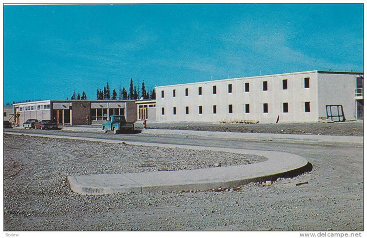Exterior, Thompson Inn, Thompson, Manitoba, Canada, 40-60s