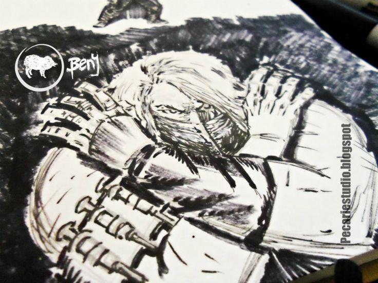 #BlancoyNegro #Dibujo #Arte #Ilustración #CarlosBenitez #Pecariestudio  #Cómics #Historieta #Drawing #Fotografía