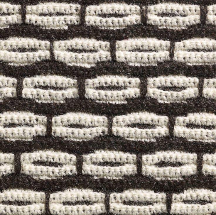 """En variant av ribbvirkning från boken """"Virktekniker"""" av Maria Gullberg, Hemslöjdens förlag. Foto: Thomas Harrysson  Instagram: maria_gullberg"""
