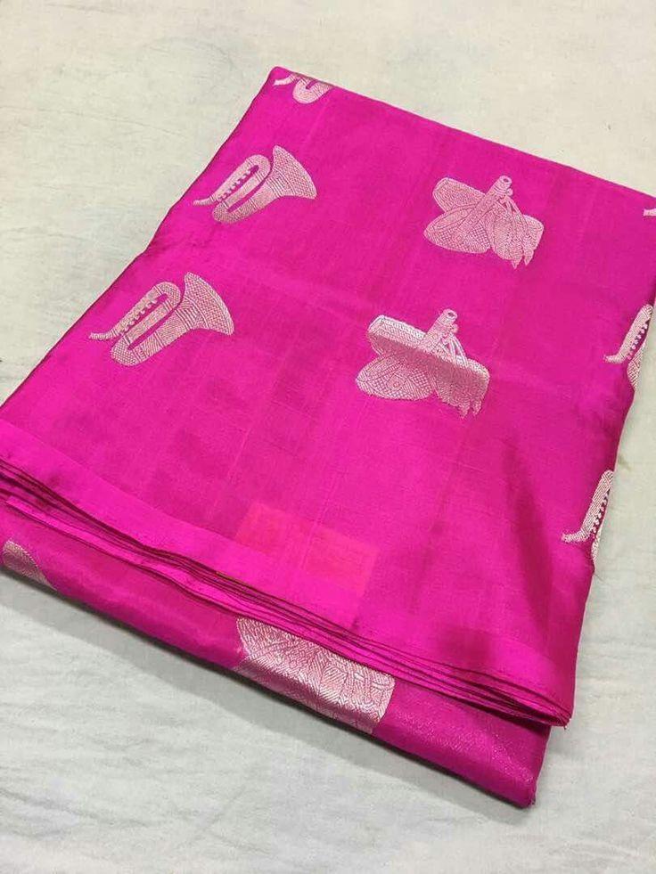 Kanchipuram silk sarees ready to dispatch Order WhatsApp 7995736811