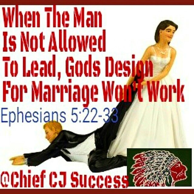 Ephesians 5:22-33, won't work in that marriage, never see God's results unless we do it God's way