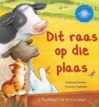 In die storie ontdek kinders al die dieregeluide op die plaas, wanneer hulle die klanknoppies druk, op soek na Hoenderhaan.
