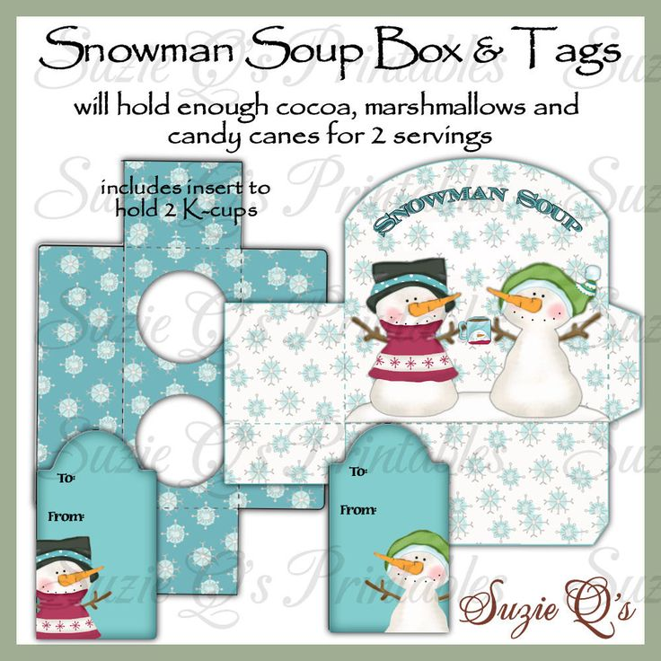 funky polkadot giraffe winter snowman soup with printable snowman soup ...