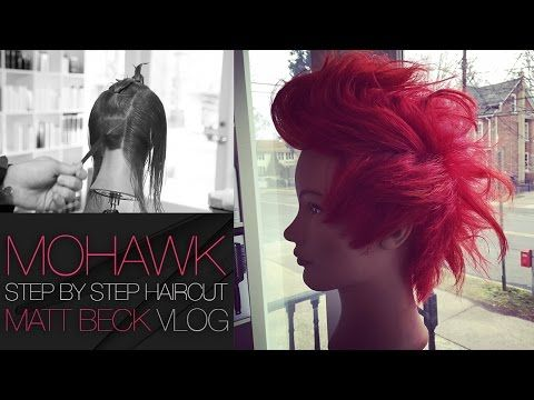 How To Cut A Grown Out MOHAWK Haircut Step by Step | FOHAWK Haircut for MEN and Women - YouTube