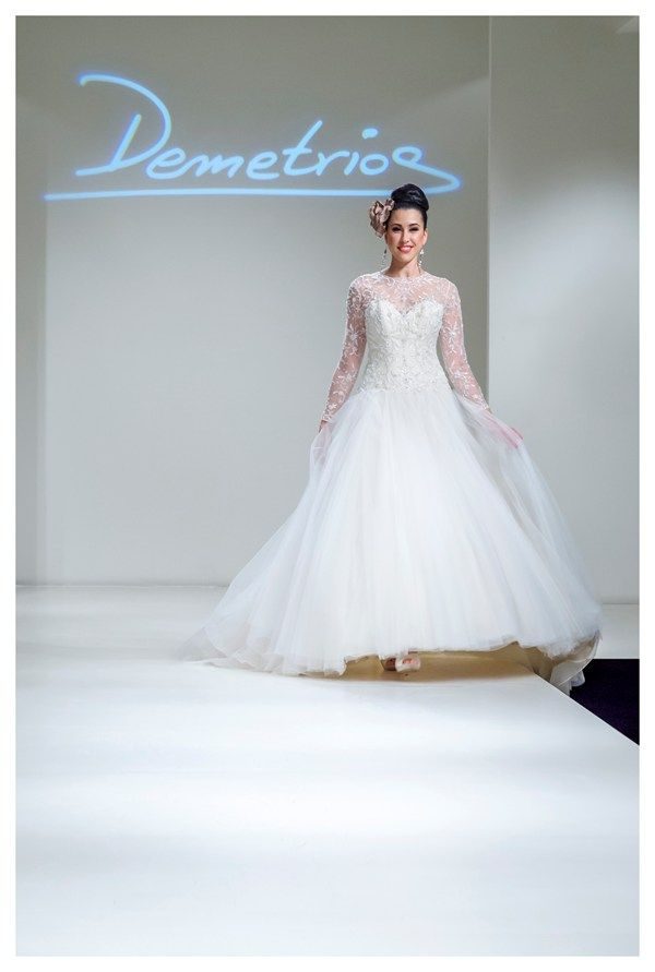 16 best Demetrios wedding dresses 2016 images on Pinterest ...