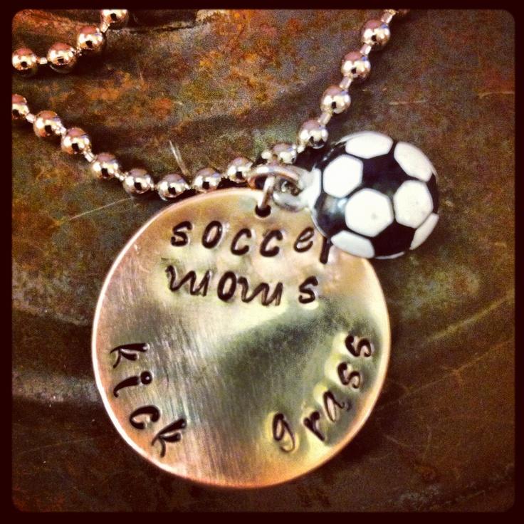 soccer moms kick grass