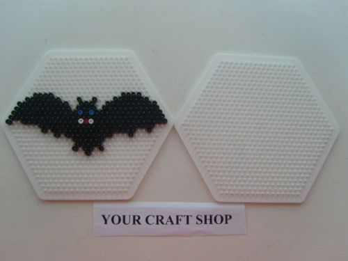 Halloween bat hama  beads