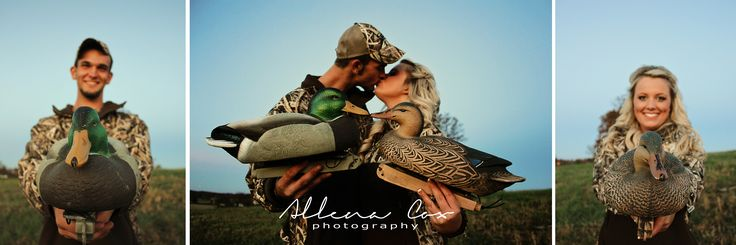 Camo- Hunting- Duck- Decoy- Love- Central Kentucky Wedding & Family Photography http://www.allenacoxphotography.com