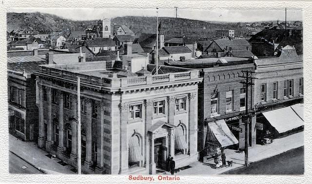 1910 Trader's Bank, Sudbury ON