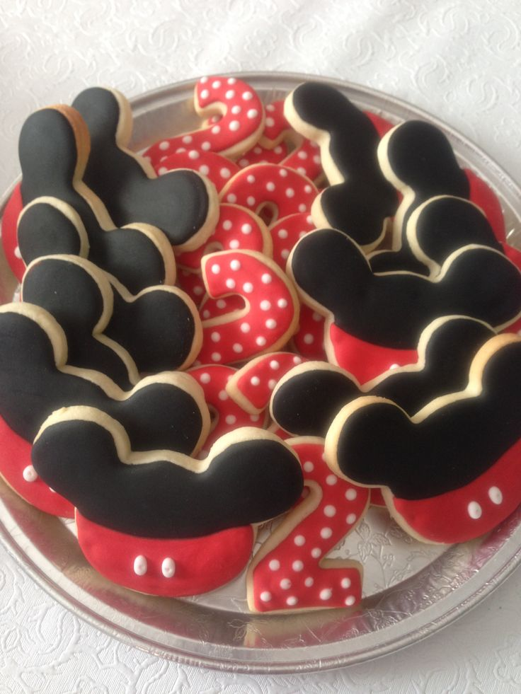 Mickey Mouse platter
