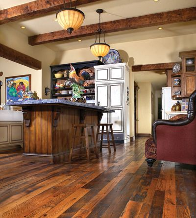 9 best images about rustic dirty top on pinterest for Rustic red oak flooring
