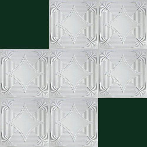 20 m2 Dekorplatten Deckenplatten Platten 50x50cm, Nr.75: Amazon.de: Baumarkt