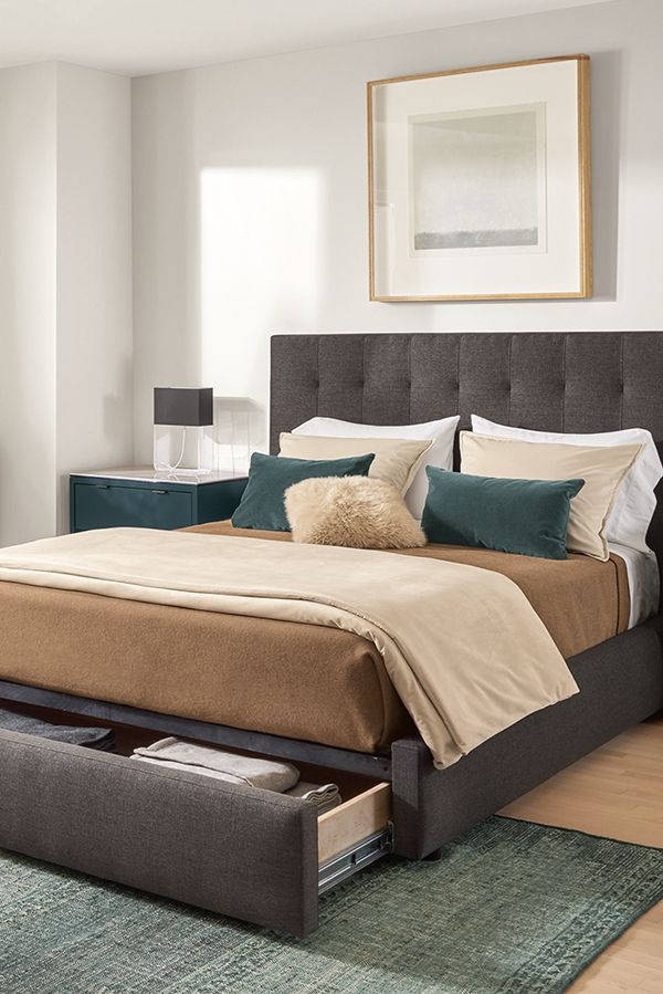 Avery Upholstered Storage Bed Modern Contemporary Beds