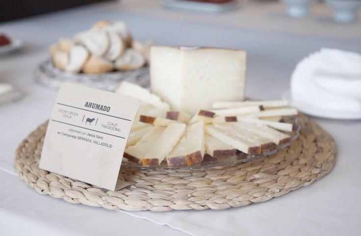 Eventos Restaurante España. Mesa de quesos. Campoveja. Lugo