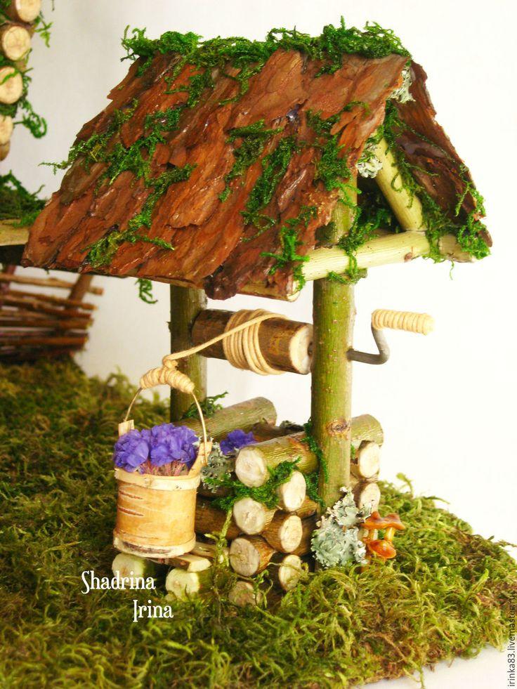 Купить Избушки для Бабы Яги - избушка, избушка на курьих ножках, интерьерная композиция, сказочный домик