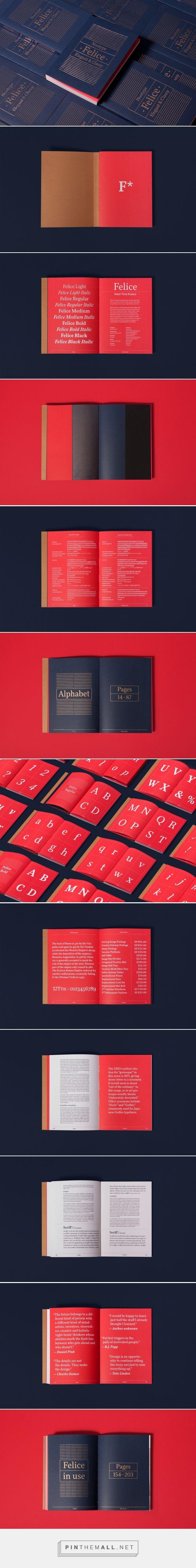 Felice the book on Behance - created via https://pinthemall.net