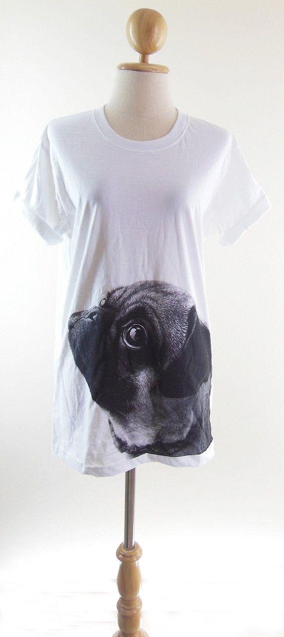 Pug TShirt  Pug Shirt Dog TShirt Animal TShirt by panoTshirt, $17.00