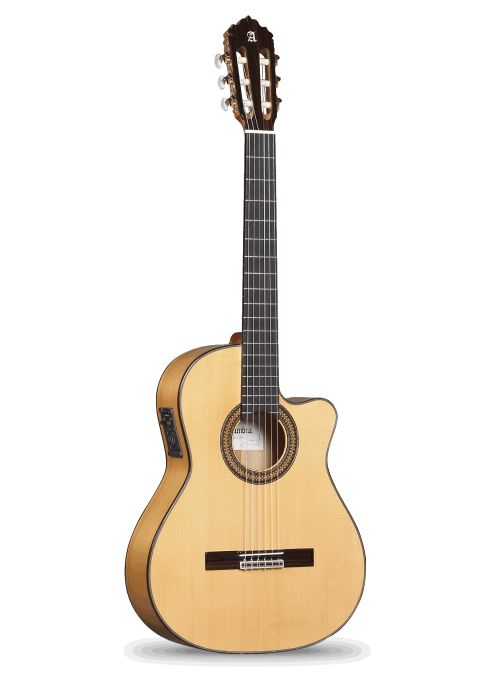 Guitarras Alhambra. Cutaway. 7 Fc CW