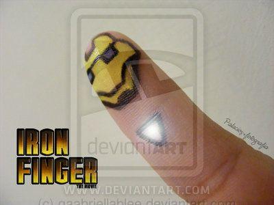 iron finger by gaabriellablee on DeviantArt