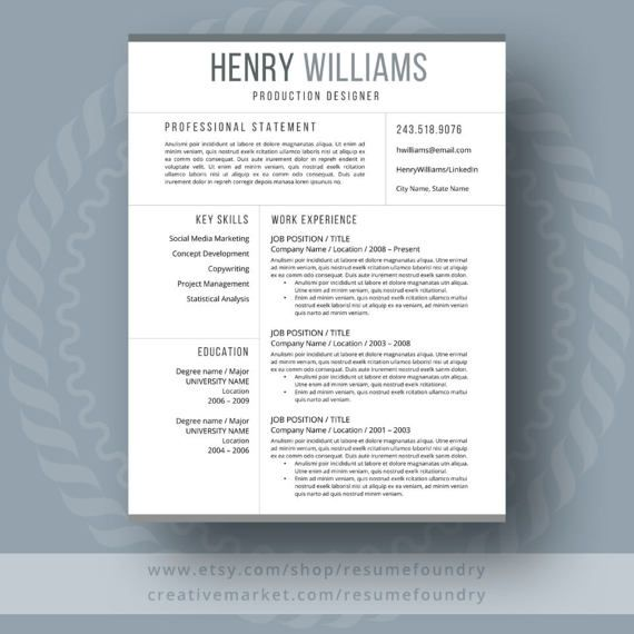 306 best Awesome CV Template images on Pinterest Cv template - resume templates microsoft word 2003