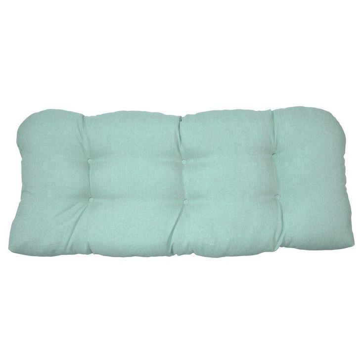 Tufted Settee Cushion - Aqua (Blue) - Threshold