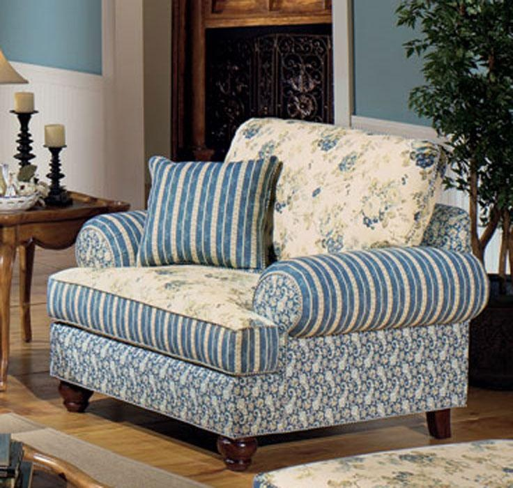 Country blue blue chairs and living room country on pinterest - Country living room furniture sets ...