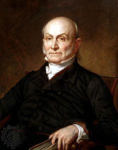 Dec. 1, 1824, the presidential election is turned over to the U.S. House of Representatives when a deadlock occurs. John Quincy Adams is declared the winner.