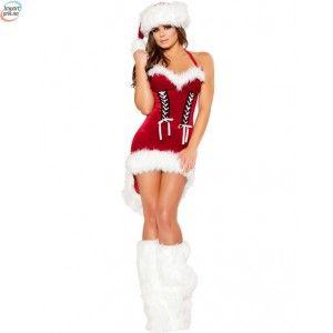 Julenissens Snøjente Med Leggvarmere