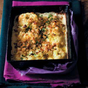 Three-cheese Cauliflower Bake #Dinner #Recipe #TrayBake #SouthAfrica