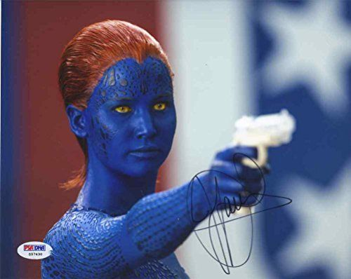 Jennifer Lawrence X-Men: Days of Future Past Signed 8x10 Photo Certified Authentic PSA/DNA @ niftywarehouse.com #NiftyWarehouse #Xmen #Marvel #X-Men #Comics #Geek #ComicBooks