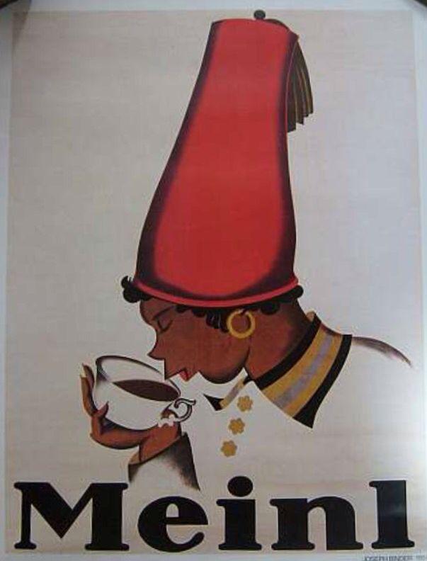 Julius Meinl Kaffee Wien  Vintage poster