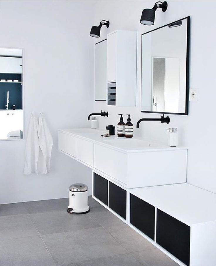 via @vipp on Instagram | Bathroom | home | interior design | decor