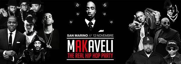 Sabato 12 novembre il Vision Club di San Marino propone una serata originale in perfetto stile Hip Hop.