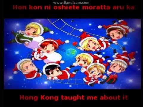 Hetalia  We Wish You a Merry Christmas lyrics Im so learning this for Christmas!!