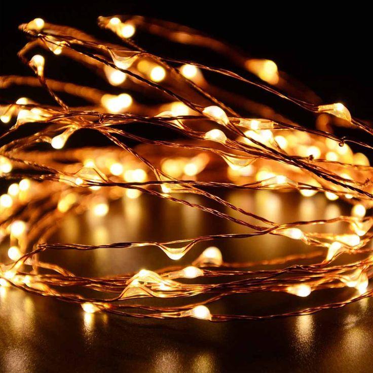 Goodland ledストリングライト防水照明弦高品質銅線フェアリーライトクリスマスウェディングパーティーの装飾