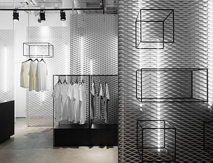 "MOULI, Stockholm,Sweden, presents the new formula in shop fit-out, ""Marble/Metal/Solid Wood"", pinned by Ton van der Veer"