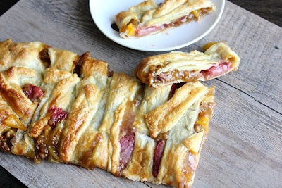 Lemonberry and Peach Strudel