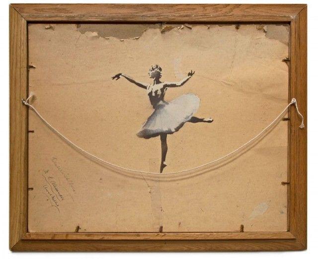 Ballerina by Banksy: Work, Idea, Inspiration, Ballerinas, Street Art, Artist, Banksy, Painting, Streetart