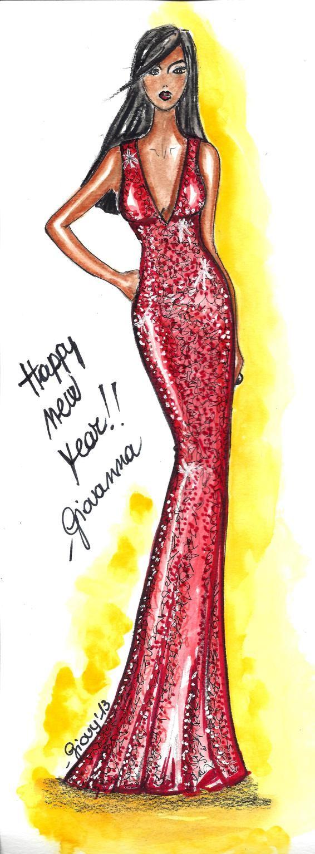Happy new year! #fashion #illustration #sketches